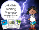 Weather Writing Prompts with Real Pictures