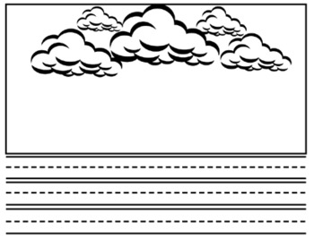 Weather Writing/Literacy Unit ~  12 Writing Prompts ~ Syllables ~ Word Parts
