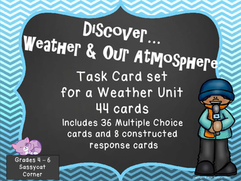 Weather and Atmosphere Task Cards