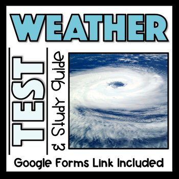 Weather and Atmosphere Test and Study Guide