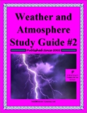 Weather and the Atmosphere Study Guide #2