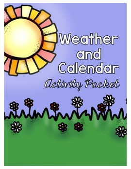 Weather and Calendar Activity Booklet