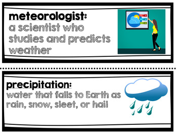 Weather and Climate Amplify Science 3rd Grade Unit 4 Focus Wall