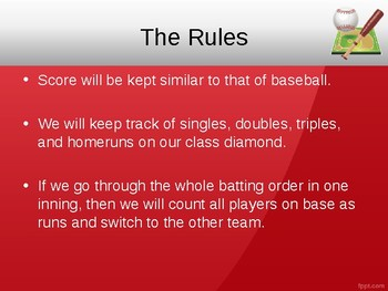 Weather and Climate Baseball Review Game