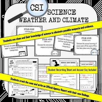 Weather and Climate CSI Science