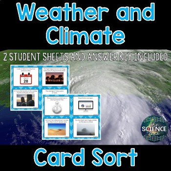Weather and Climate Card Sort