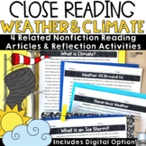 Weather and Climate Reading Passages and Questions