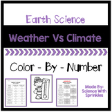 Weather and Climate Color By Number