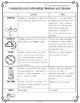 Weather and Climate Comparison Diagram & Comprehension Questions