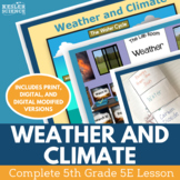 Weather and Climate - Complete 5E Lesson - Fifth Grade