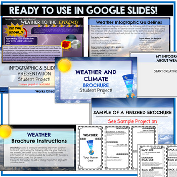 Weather and Climate Google Classroom Student Projects