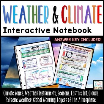 Weather Interactive Notebook