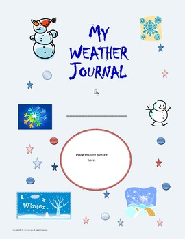 Daily Weather Journal Third Grade