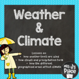Weather and Climate Lesson