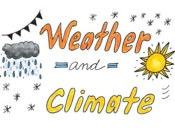 doodle notes weather and climate powerpoint by science doodles freebie
