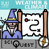 Weather and Climate SciQuest Science Scavenger Hunt- Print