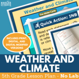Weather and Climate - Supplemental Lesson - No Lab - Fifth Grade