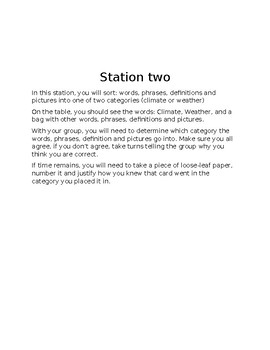 Weather and Climate stations FREEBIE