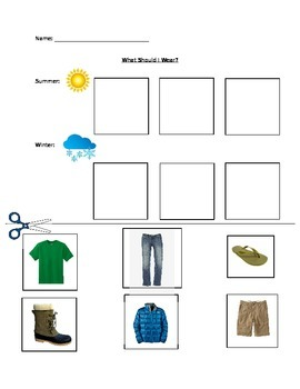 Weather and Clothing