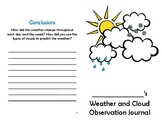 Weather and Cloud Observation Journal