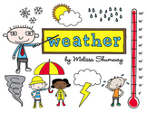 Weather and Kids Clip Art