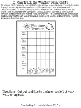 Weather and Meteorology 101 Lapbook and Student Workbook Mega Pack