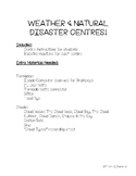Weather and Natural Disaster Exploration Centres