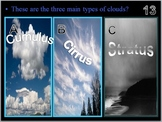 Weather and Oceans, Water Cycle, Clouds, Quiz Game