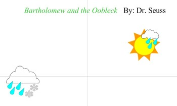 Read Across America Oobleck & Weather