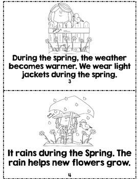 Weather and Season Mini-Books