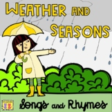 Weather + Seasons Songs & Rhymes