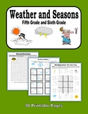 Weather and Seasons (5th Grade and 6th Grade)