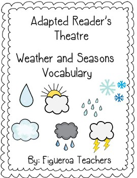 Weather and Seasons - Adapted Readers Theater in Spanish
