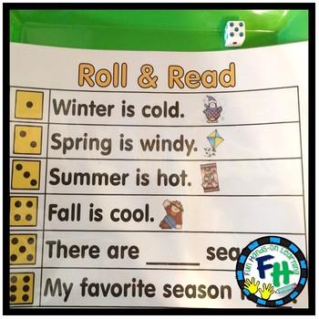 Weather and Seasons Activity Bundle