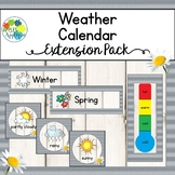 Weather and Seasons Calendar in Farmhouse Theme
