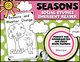Weather and Seasons Change (SCIENCE) Emergent Reader for Young Students
