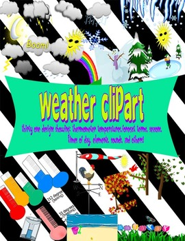 Weather and Seasons Clip Art