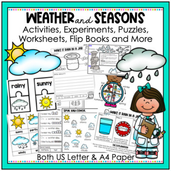 Weather and Seasons Activities, Science