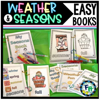 Weather and Seasons Easy Reader Books