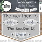 Weather and Seasons {Editable} Farmhouse Decor