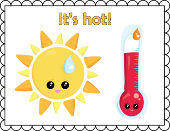 Weather and Seasons Flash Cards; Kindergarten; Preschool; Homeschool;