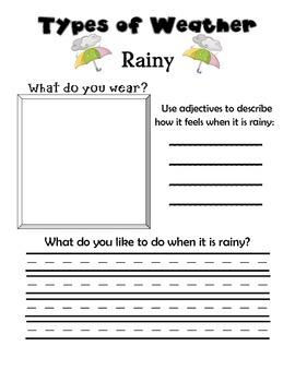 Weather and Seasons Fun