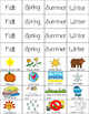 Weather and Seasons Matching Game