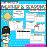 Weather and Seasons Mini Book and Worksheer