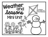 Weather and Seasons Mini Unit