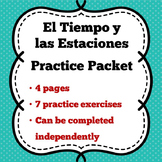 Weather and Seasons Practice Packet