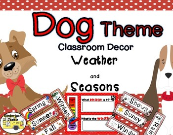 Weather and Seasons dog theme