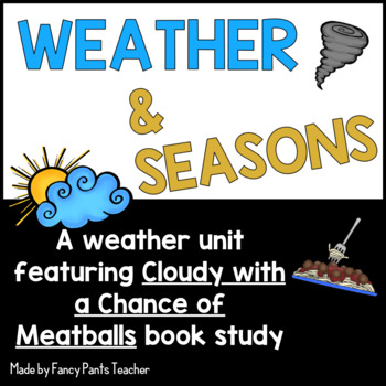 Weather and Seasons featuring Cloudy with a Chance of Meatballs