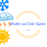 Weather and Solar System Clipart