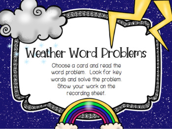 Weather and Space Math Stations